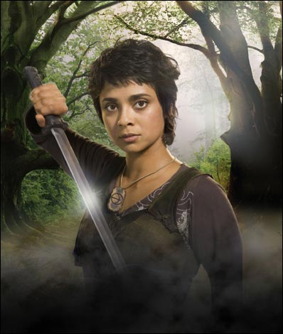 Anjali Jay played Djaq on the first two seasons of the 2006 television series Robin Hood.