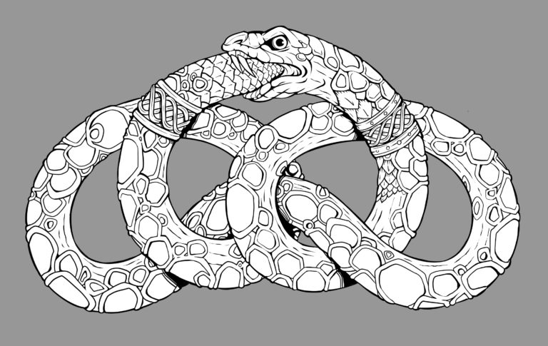 Sara Bardi, snake